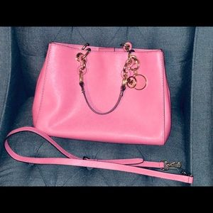 Michael Kors Cynthia Tulip Pink Satchel